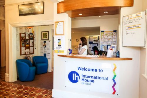 International House Bristol<br>Reception