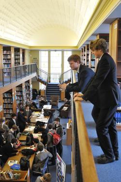 Tonbridge School <br>Libreria