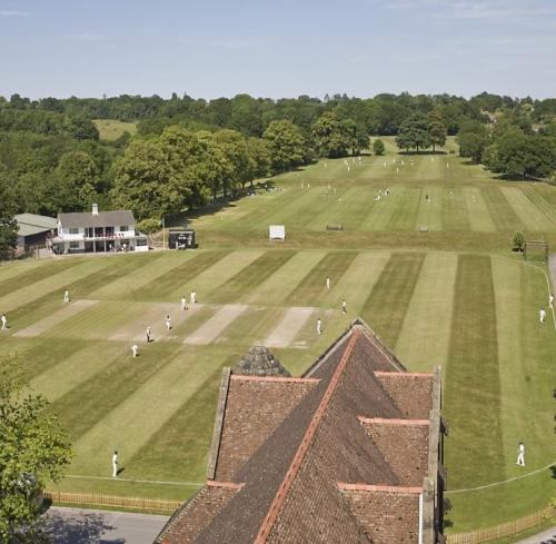Ardingly Boarding School<br>Ardingly and the sport fields