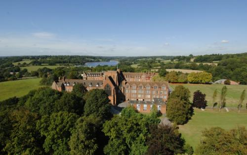 Ardingly Boarding School<br>Ardingly Boarding School and the Lake