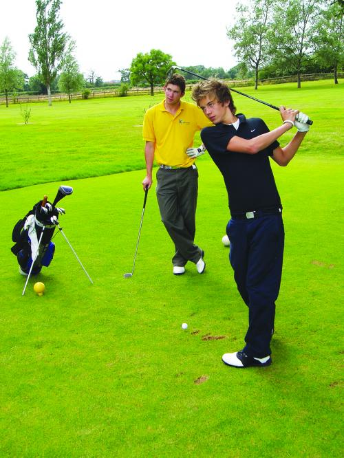 Shrewsbury Boarding School<br>Golf