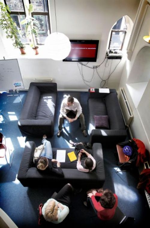 Edinburgh School of English <br>Lounge