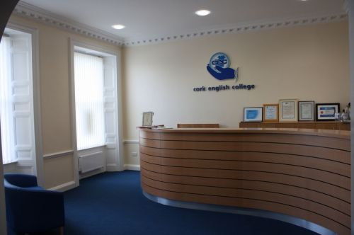 Cork English College<br>Reception