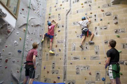Bloxham Boarding School<br>Parete arrampicata