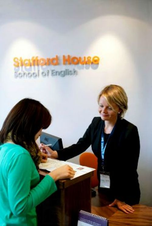 Staffordhouse<br>Reception