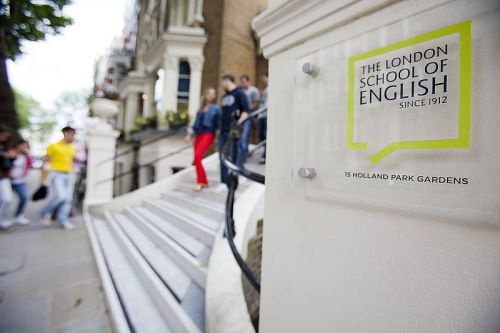 The London School of English<br>Esterno scuola
